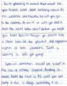 5th Grade Persuasive Essay Exles by Argumentative Student Writing Sle Empowering Writers