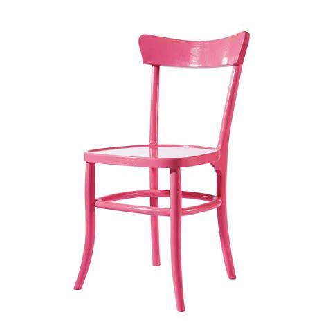 Pink Bistro Chair Pink Chair Bistrot Bistrot Maisons Du Monde