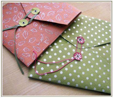 Handmade Envelope Design - 25 beste idee 235 n enveloppen maken op een