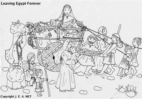 printable coloring pages exodus the exodus children s church