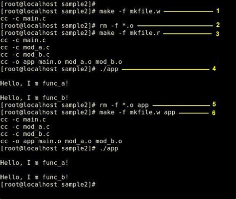 tutorial c in linux makefile linux tutorial c