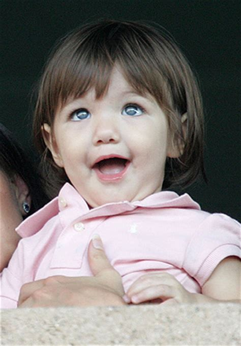 Tom Cruise Sign Suri Cruise As Baby Gap Model by Suri Cruise America S Next Top Model Extratv