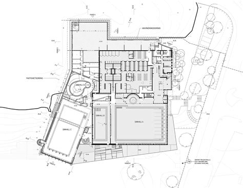 swimming pool plans pdf gallery of indoor swimming pool for sundbyberg urban
