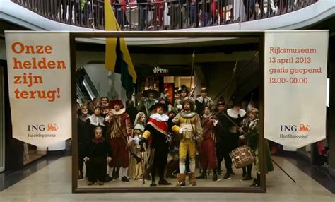 amsterdam museum flash mob fantastic pr stunt marks the reopening of amsterdam s