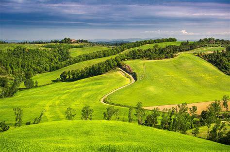 Landscape Photography Italy Wallpaper Italy Toscana Nature Fields Scenery Trees 4000x2662