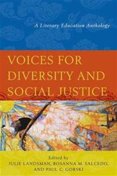 studies on diversity and social justice education voices for diversity and social justice julie landsman