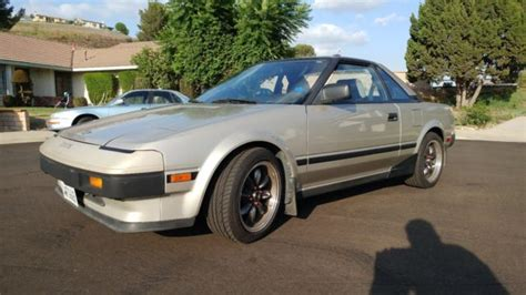 auto air conditioning repair 1985 toyota mr2 parking system aw11 mr2 in original driver level condition for sale in walnut california united states