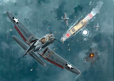 dive bomber world war ii mcdonnell douglas dauntless dive bomber