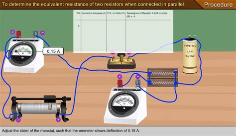 equivalent resistance of two resistors connected in parallel to determine the equivalent resistance of two resistors when connected in parallel