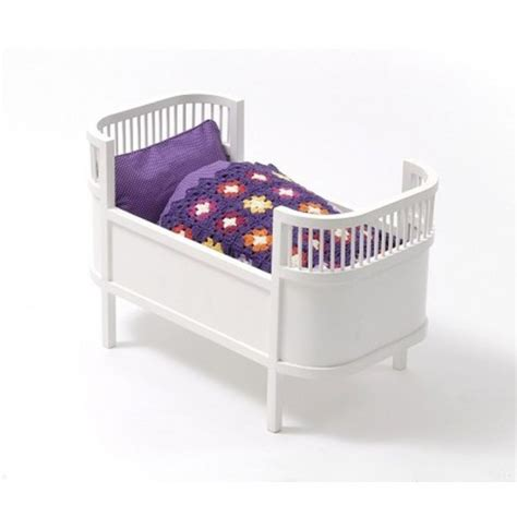 Cot Mattress by Leo Smallstuff Rosaline Wooden Doll Bed Cot