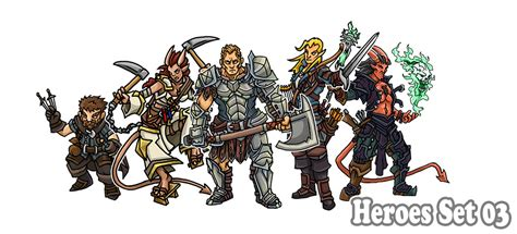 printable heroes tiefling printable heroes heroes set 03 downloadable here