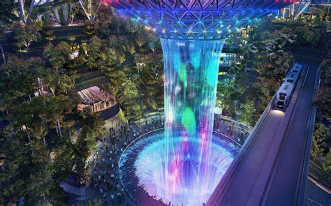 singapores jewel changi airport   amusement park