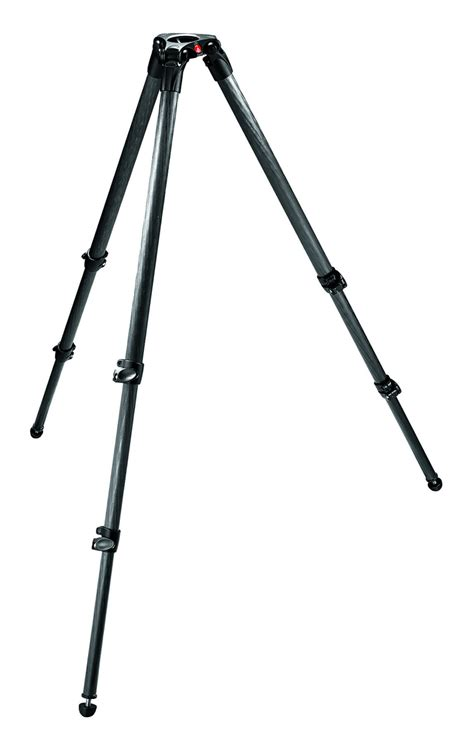 cf section cf 2 stage 3 section single tube video tripod w 75mm bowl
