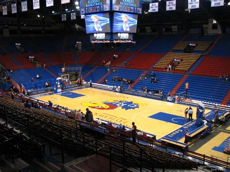 section 4 a allen fieldhouse section 4 rateyourseats com
