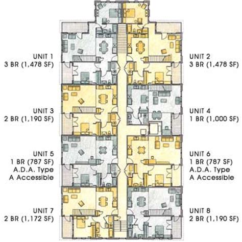 mixed use building floor plans mixed use building floor plans find house plans