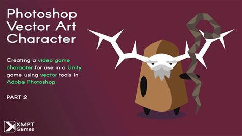 tutorial vector art photoshop cs6 photoshop vector art video game character tutorial part 2