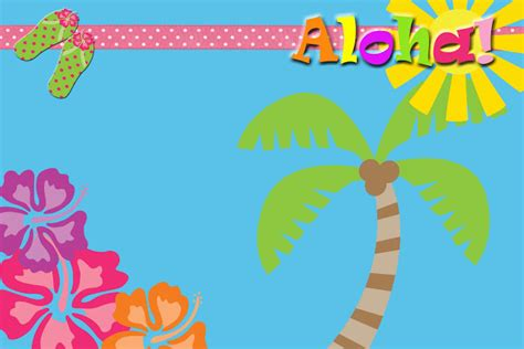 luau invitation template the fast freebies