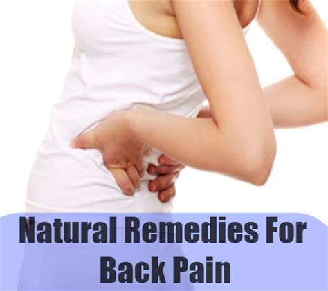 easy home remedies for back quickly