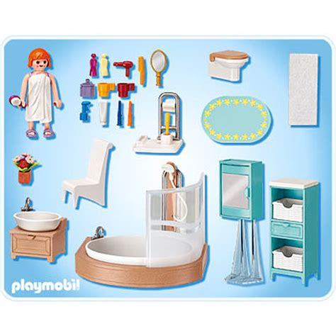 playmobil bathroom grand bathroom by playmobil franklin s toys
