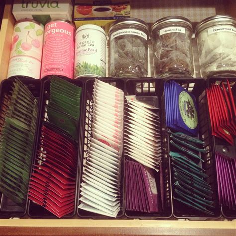 tea organization best 25 tea bag storage ideas on pinterest cookie tin