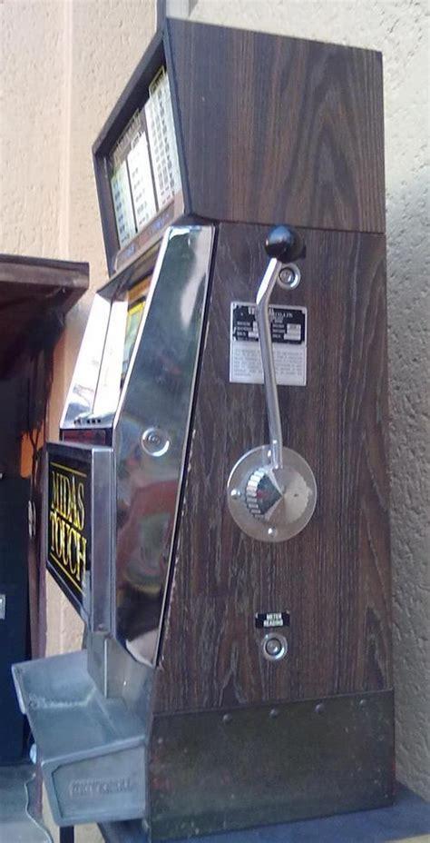 casino memorabilia slot machine  armed bandit universal midas touch working