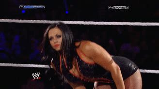wwe very hot match more hot gifs from aksana s final wwe match http
