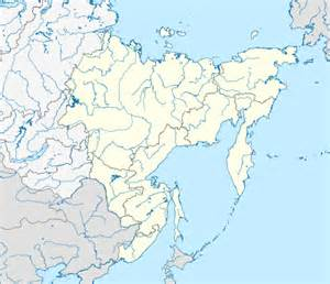 template location map russia far eastern federal district