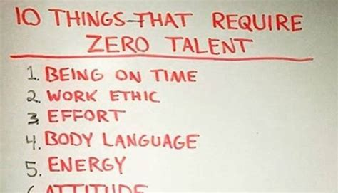 Https Www Linkedin Pulse 10 Things Require Zero Talent Callahan Mba 10 things that require zero talent but will make you a