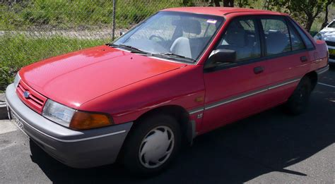 Ford Laser Che Cover Mobil Durable Premium file 1990 1991 ford laser kf l 5 door hatchback 02 jpg wikimedia commons