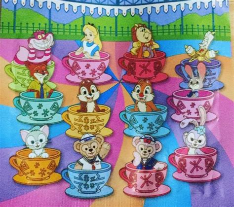 Pin Disney Hongkong hong kong disneyland teacup mystery pins disney pins