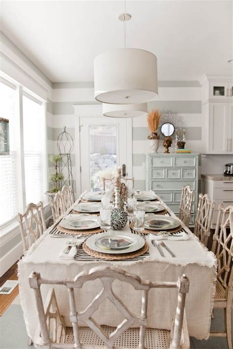 Shabby Chic Dining Rooms | 52 ways incorporate shabby chic style into every room in