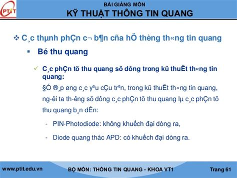 diod thu quang chuong 1in sv