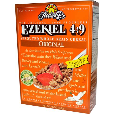 whole grains keto food for ezekiel 4 9 sprouted whole grain cereal