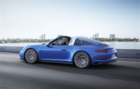 miami blue porsche targa new porsche 911 carrera 4 and 911 targa 4 for 2016 elite