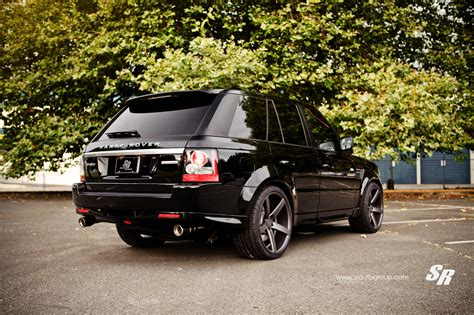 wheels range rover range rover sport gets dark look with vossen wheels