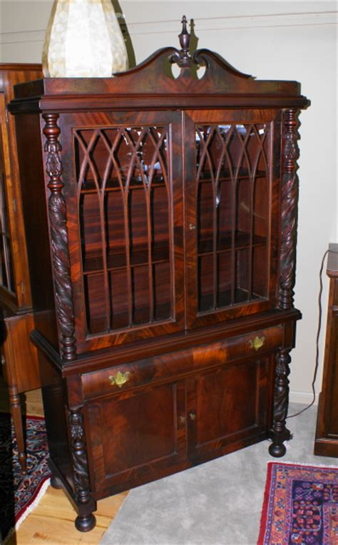 mahogany china cabinet for sale two door acanthus carved mahogany china cabinet for