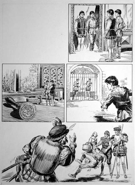 The Prince and the Pauper - City Life (TWO pages) by Bill