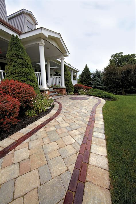 walk in style front entrances and walkways unilock