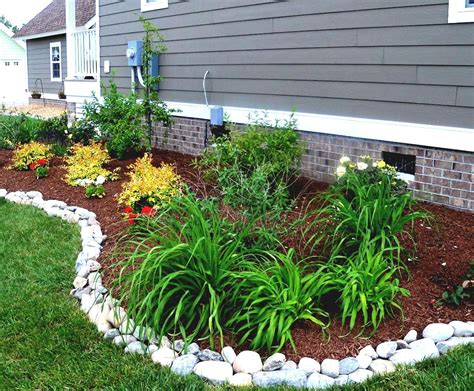 Simple Front Yard Landscaping Ideas Pictures Amys by Simple Landscaping Ideas In Landscaping Ideas On A