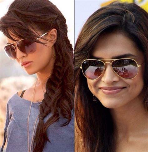 woman wearing ray ban sunglasses pilot ray ban sunglasses women