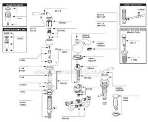 Faucet Handle Repair Moen T4570cp Parts List And Diagram Ereplacementparts Com