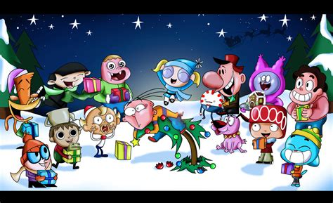 it s a cartoon network christmas eddy by