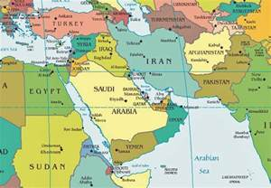 Map Of Middle East by Iran Politics Club Iran Political Maps 11 Middle East