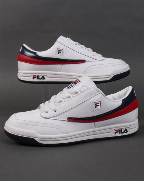 vintage fila sneakers fila vintage original tennis trainers white navy shoes