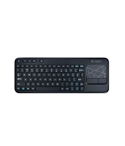 Logitech Wireless Keyboard K400r logitech k400r wireless keyboard buy rs