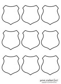 police badge template community helpers pinterest