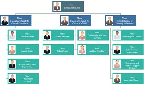 5 Functional Org Chart Templates Org Charting Functional Organizational Chart Template