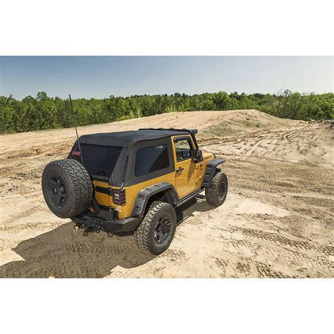 wrangler rugged rugged ridge 13750 39 bowless soft top black 07 16 jeep wrangler jk 2 door