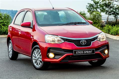toyota car price toyota etios 1 5 sprint 2017 specs pricing cars co za