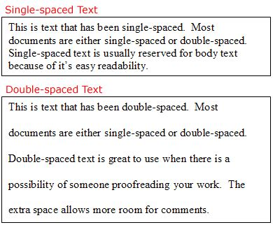 Spaced Essay Exle by Egytech Ms Word 2003